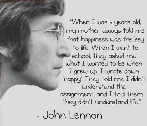 Geluk John lenon